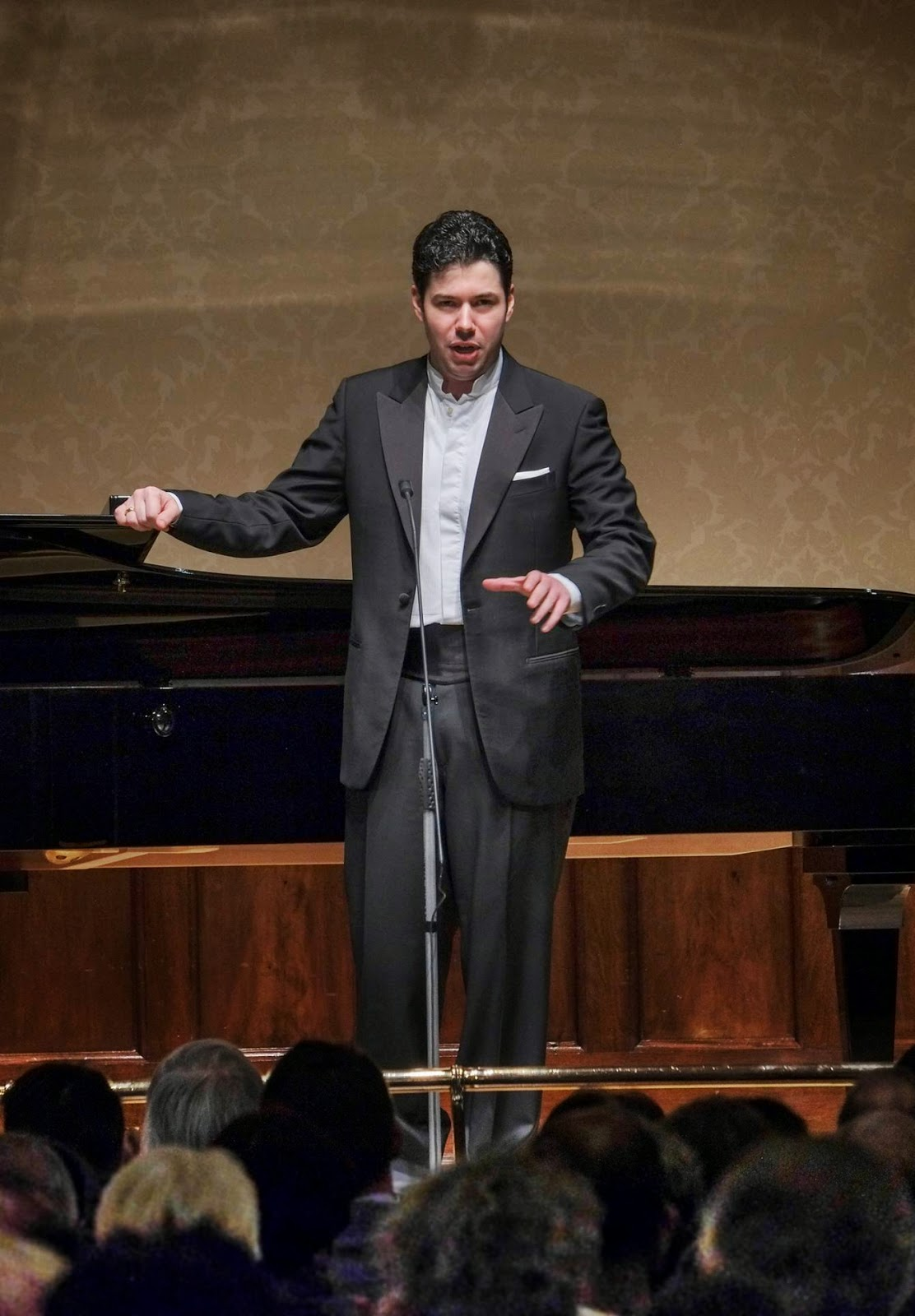 Antonio Poli at the Wigmore Hall for Rosenblatt Recitals © Jonathan Rose