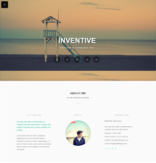 Template Bisnis FENIX BLOGGER TEMPLATE