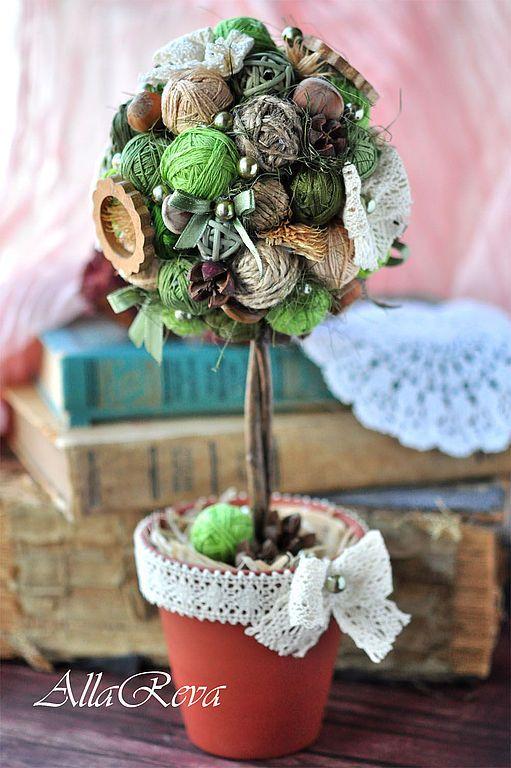 Árvore para decoração natalina - Pinterest