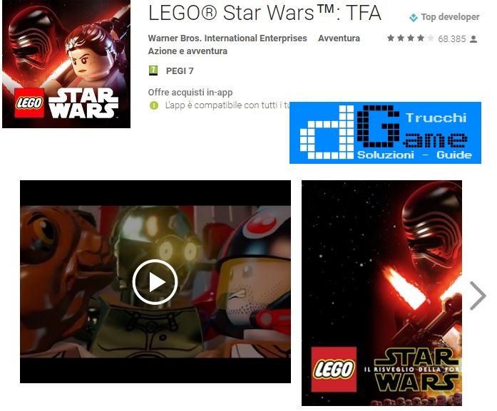 Trucchi LEGO: Star Wars TFA Mod Apk Android v1.29.1~4