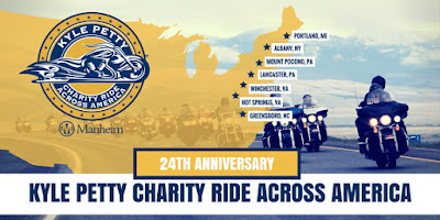 The 2018 Kyle Petty Charity Ride Site Inspection Trip Is Complete #Kpcharityride #NASCAR