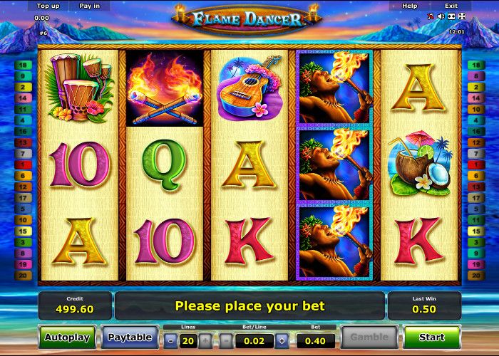 Burning Flame Slot Machine - Review and Free Online Game