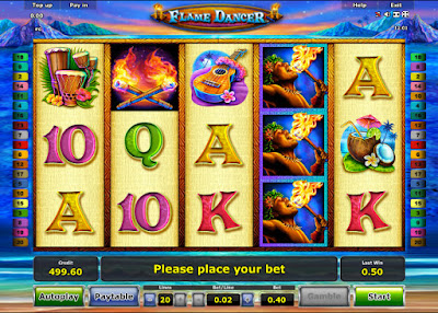 play flame dancer video slot