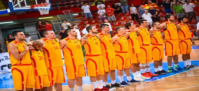 Macedonian basketball team is in Estonia for crucial qualifier