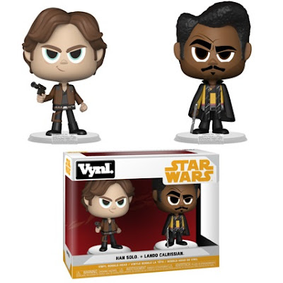 Solo A Star Wars Story Han Solo & Lando Calrissian Vynl Vinyl Figure 2 Pack by Funko