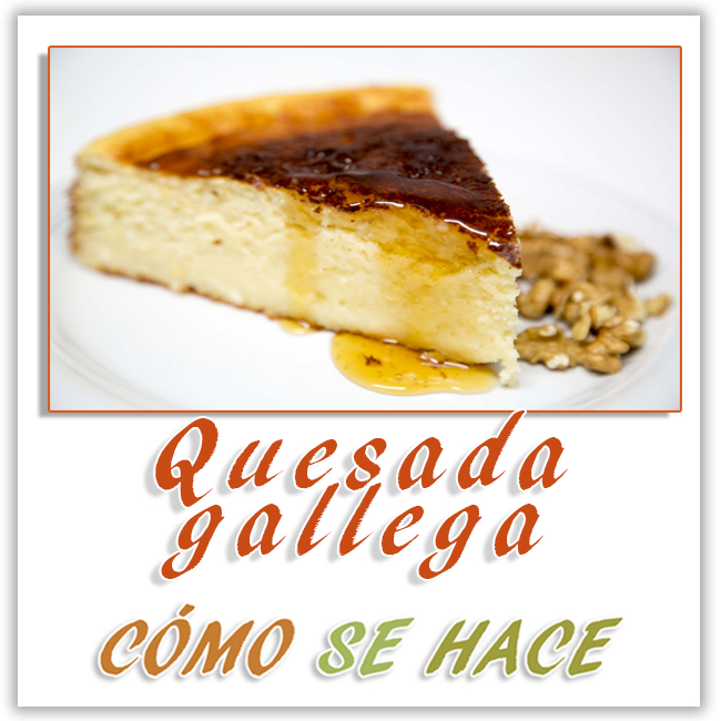 Quesada gallega o tarta de requeson