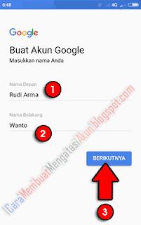 cara menambah akun google di hp xiaomi