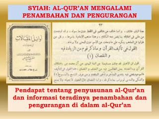 Inilah Contoh Ayat Al Quran yang Dirubah oleh Kelompok Sesat Syiah