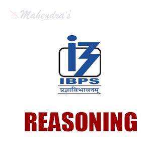 IBPS Clerk Quiz : Reasoning Ability | 17 - 11- 17