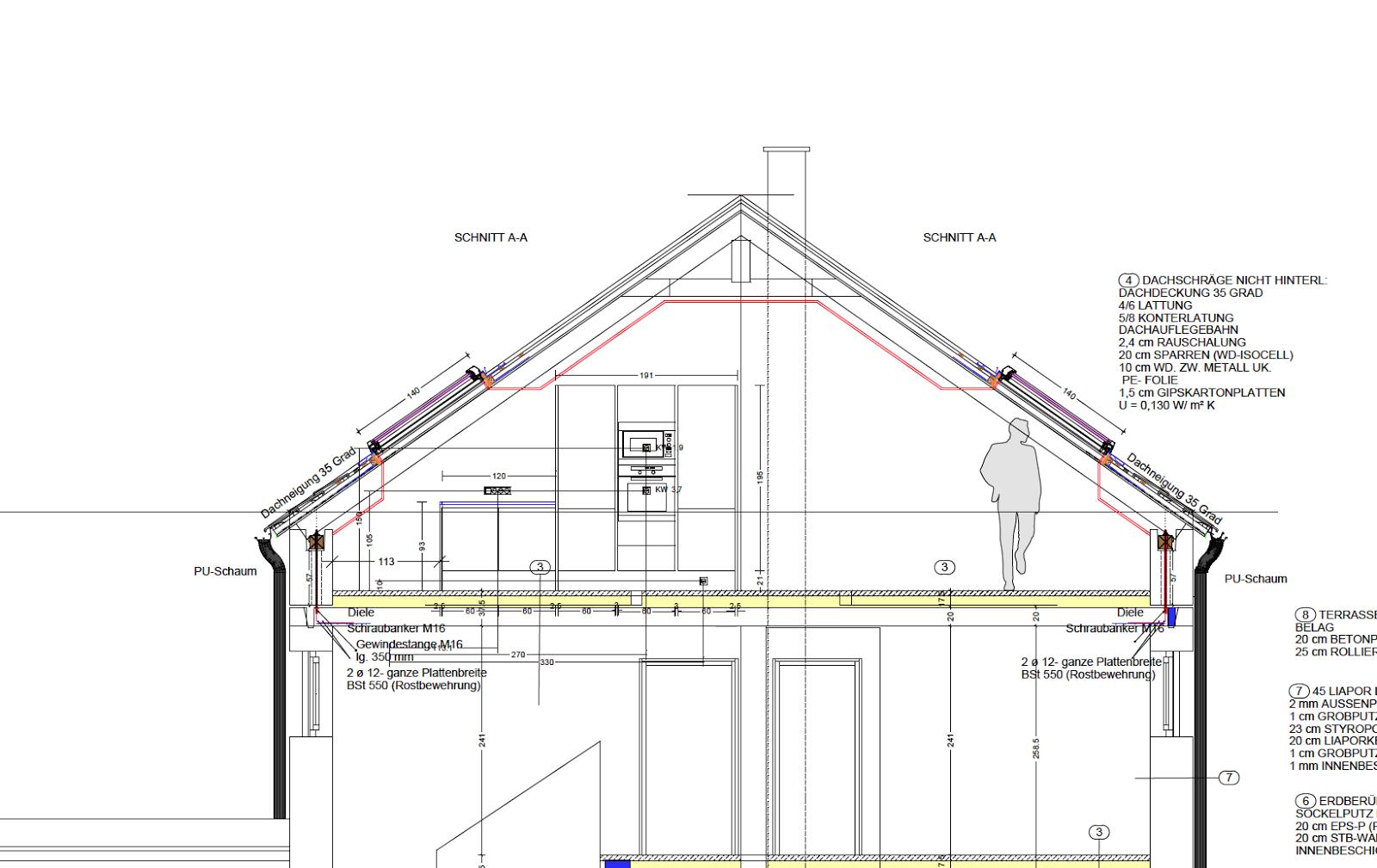 unser romberger liaporhaus das dachgeschoss mit der dachterrasse. Black Bedroom Furniture Sets. Home Design Ideas