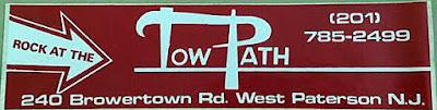 The Towpath club bumper sticker
