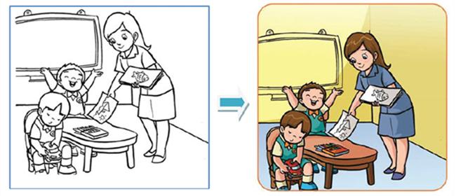 Berlatih Menciptakan Gambar Kisah