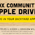 Cidery News: Portland: Portland Cider Company coordinates the 1st ever PDX Community Apple Drive. Now through October