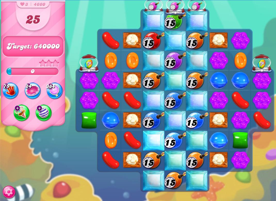 Candy Crush Saga level 4660