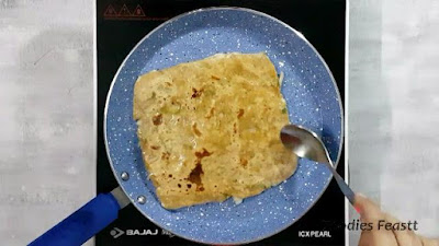 Onion Paratha Recipe / Spiced Onion Flatbread