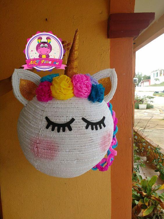 Aprende Cómo Hacer Una Piñata De Unicornio Con Cartón