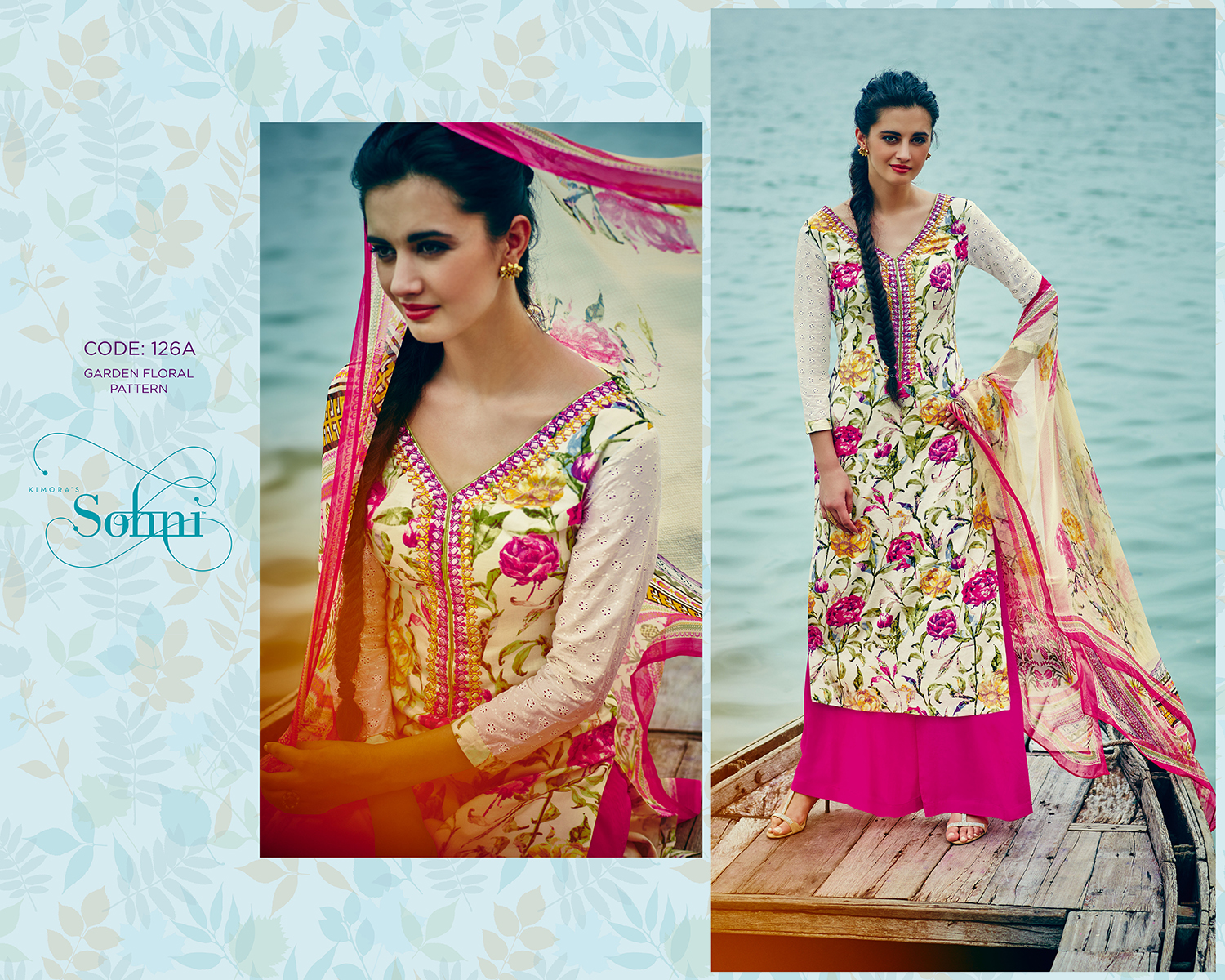 Sohni 5 – Collection Pure Cotton Cambric Print Salwar Suit