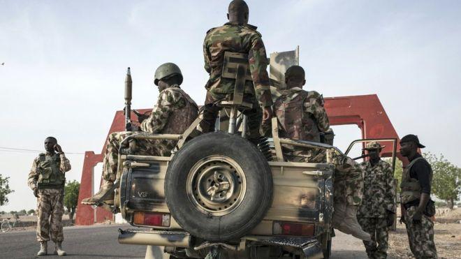 Nigeria violence: Suicide bombers kill 10 in Maiduguri