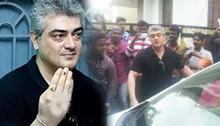 Mistake in Voting Booth When Thala Ajith caste his Vote