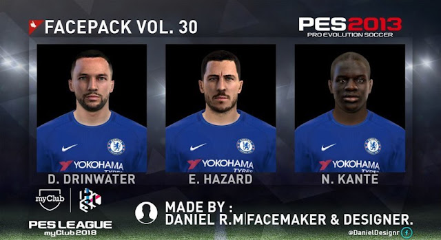 New Facepack Vol. 30 PES 2013