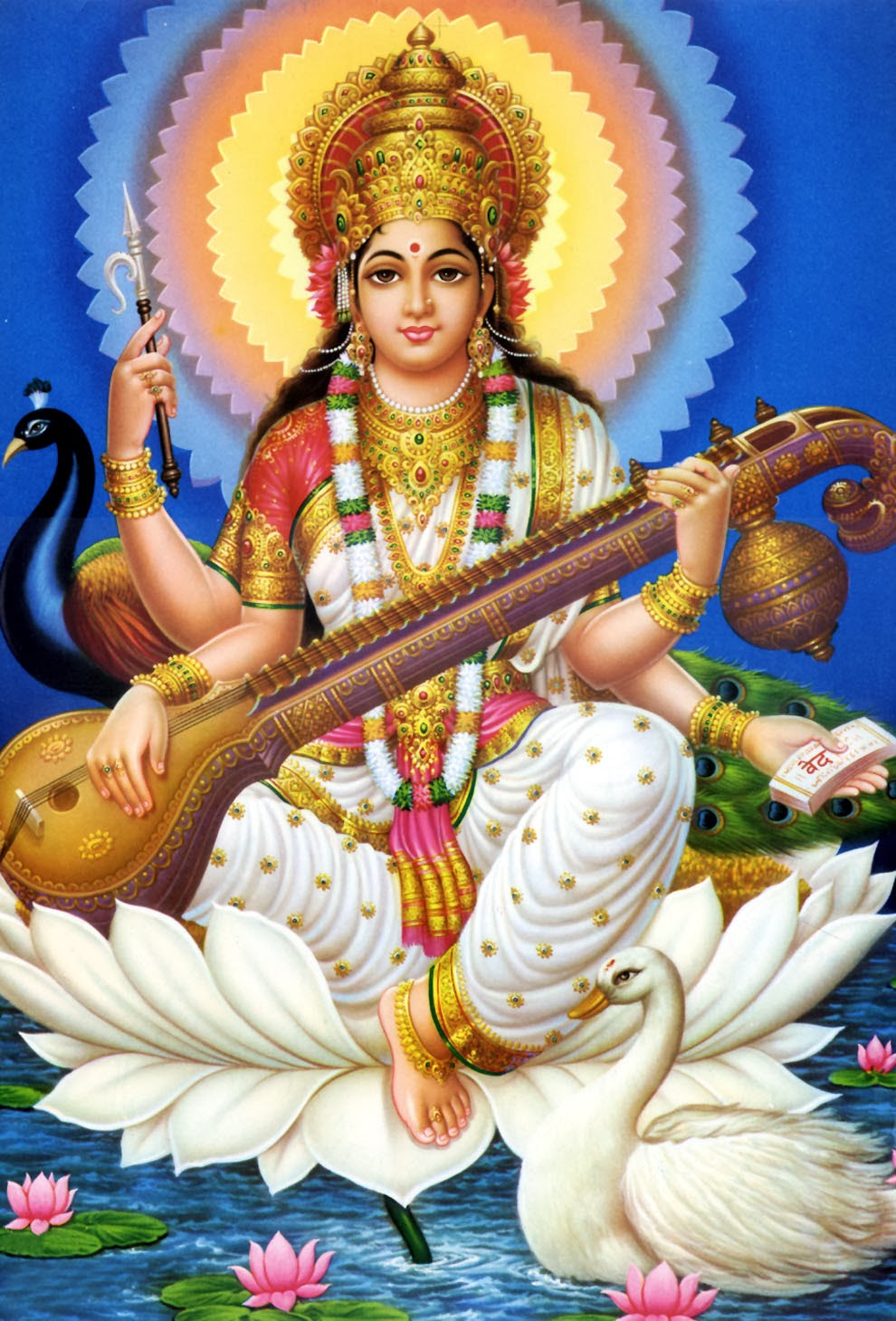 Goddess Saraswati Wallpaper 7