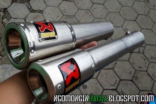 Harga Knalpot Akrapovic Terbaru Untuk Semua Motor