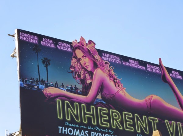 Inherent Vice film billboard