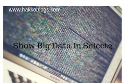 Cara Mengatasi load big data di select 2