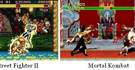 Face To Face Street Fighter Vs Mortal Kombat In A Broader