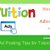 How to Write Tuition Advertisements- Ad Posting Tips for Tutors