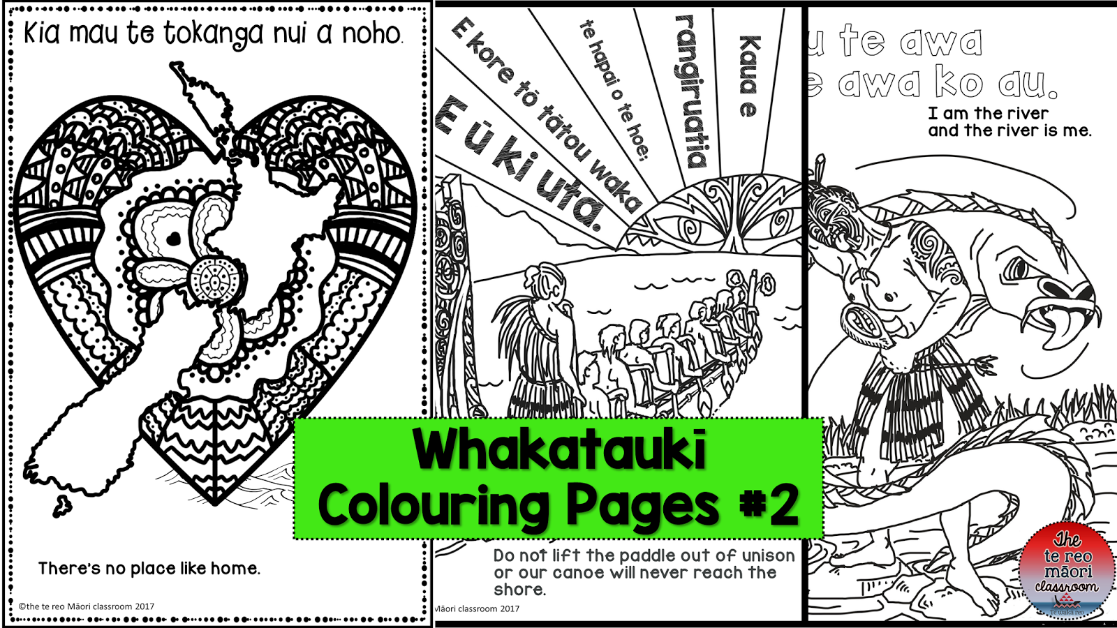 thetereomāoriclassroom: Whakataukii Colouring Pages... the best!