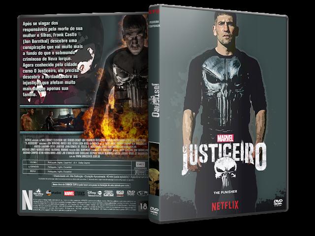 Capa DVD O Justiceiro Primeira Temporada Completa [Exclusiva]