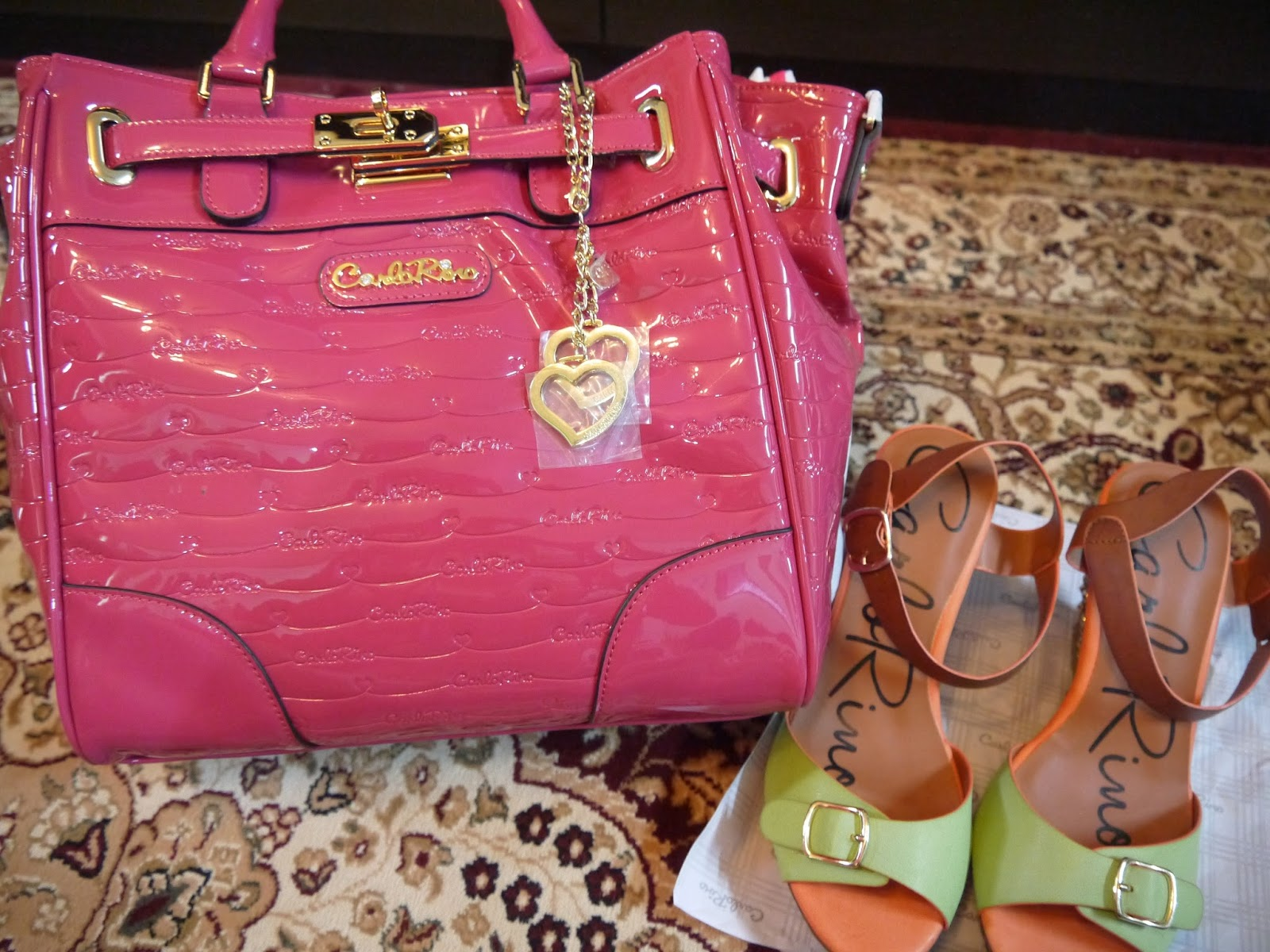 Carlo Rino 30th Anniversary Celebration Let S Start Celebrating This Meaningful Event With Them Today As I Had Purchased Lovely Shiny Pink Handbag