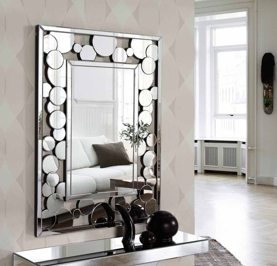 Mirrors Living Room: Modern Wall Mirror Design Ideas For Living Room Wall