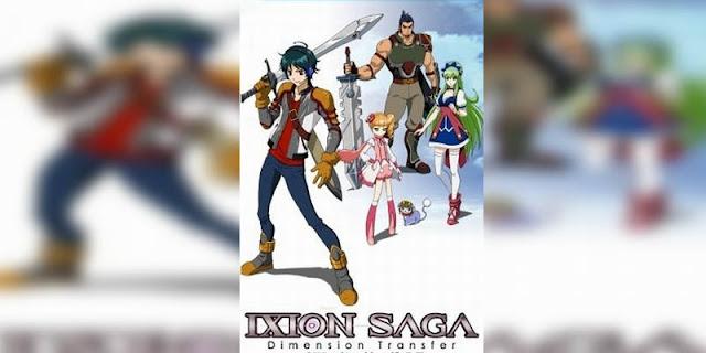 Rekomendasi Anime Game, Tentang Masuk Dunia Game Ixion Saga DT terbaik