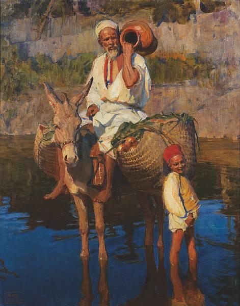 Nas Águas do Nilo - Adam Styka