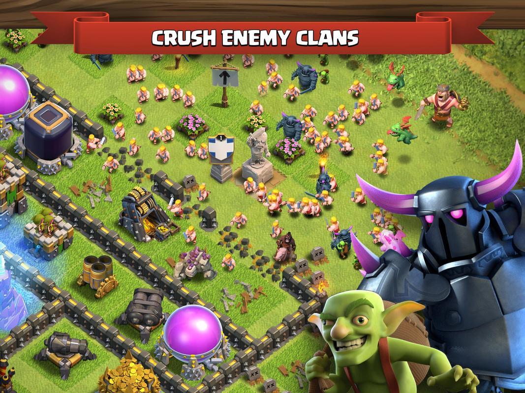 cracked clash of clans apk