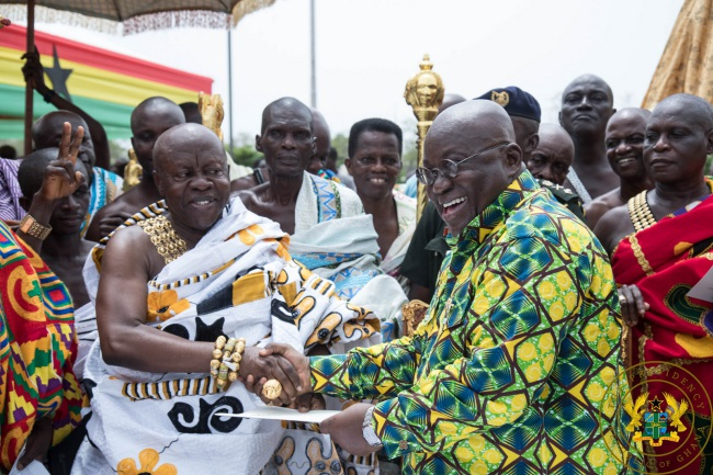 """Sefwi Wiawso Is Capital Of Western-North Region"" – President Akufo-Addo"