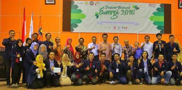 Seminar Nasional Energi 2016 di Universitas Negeri Surabaya