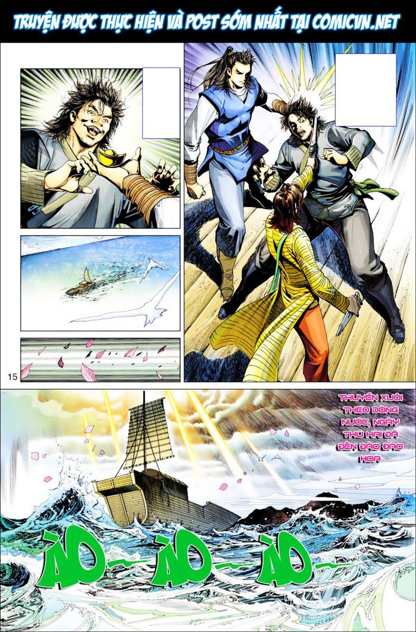 Anh Hùng Xạ Điêu anh hùng xạ đêu chap 39 trang 15