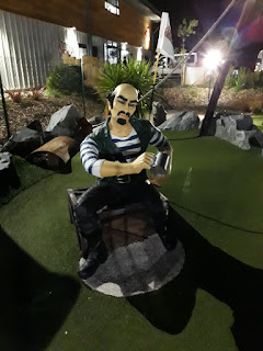 Pirate Bay Adventure Golf in Guernsey. Photo by Simon Dewhurst 14th September 2017