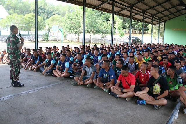 Jelang Penugasan Pamtas Papua, Danyonif R 514 Kostrad Berikan Pengarahan Kepada Seluruh Prajurit