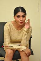 Actress Pooja Roshan Stills in Golden Short Dress at Box Movie Audio Launch  0085.JPG