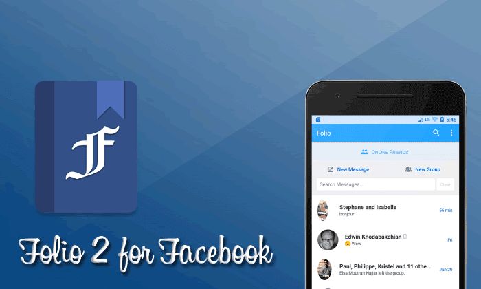 Folio 2 for Facebook & Messenger v3.1.17 APK