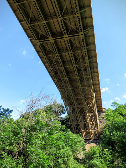 Bridge over Pittsburgh's Schenley Park