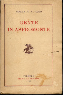 Gente in Aspromonte was Alvaro's breakthrough novel in 1931