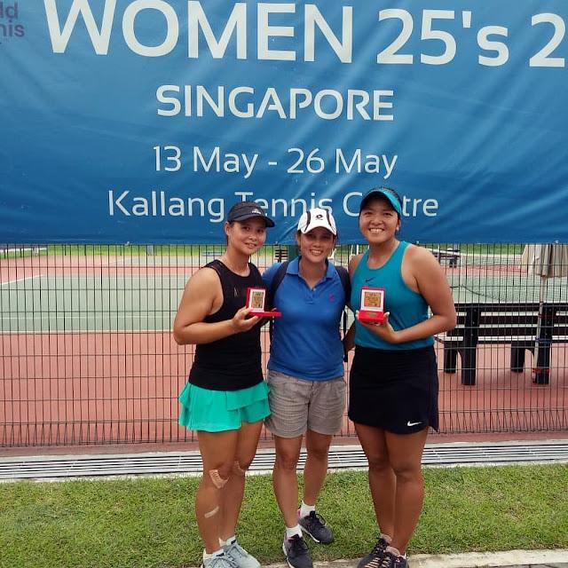 Beatrice Gumulya/Jessy Rompies Juara ITF Singapura 25k