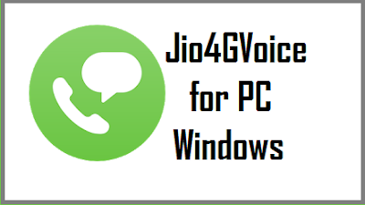 Jio4GVoice for pc