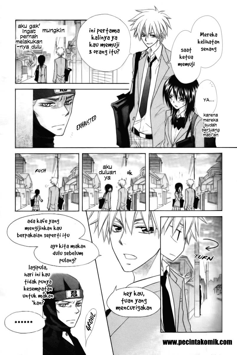 Kaichou Wa Maid Sama Chapter 53-23