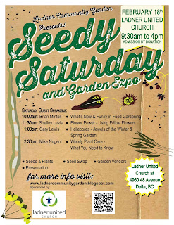 Are you coming to Ladner Seedy Saturday and Garden Expo 2017